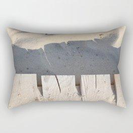 board walk / closeup Rectangular Pillow