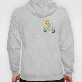 pizza delivery Hoody