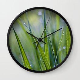 cool rain Wall Clock
