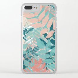 Botanical on Parade Clear iPhone Case