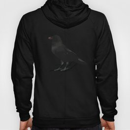 Black Gothic Crow Raven - EAP Nevermore Gift Hoody