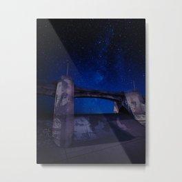 Sepulveda Dam at Night Metal Print