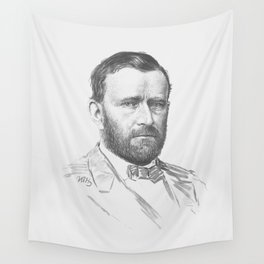 General Ulysses S. Grant Wall Tapestry
