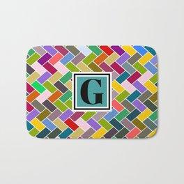 G Monogram Bath Mat