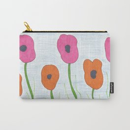 Poppies: Toward the Sky Carry-All Pouch