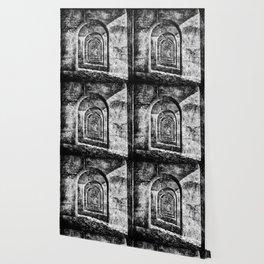 Monochrome Arches Wallpaper