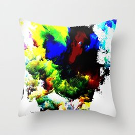 Ghastly Throw Pillow