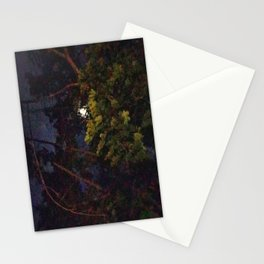 Moon Through Tree Stationery Cards