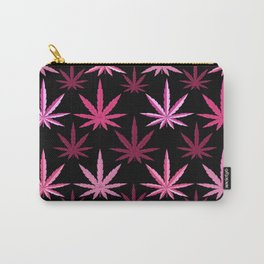 Marijuana Magenta Pink Weed Carry-All Pouch
