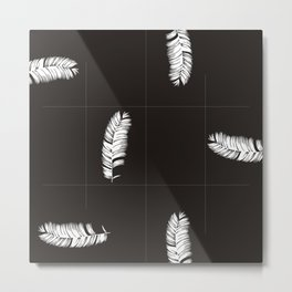 Palms Black&White #society6 #decor #buyart Metal Print