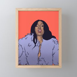 Bartier Cardi Framed Mini Art Print