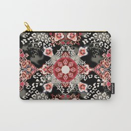 Ethnic Medallion Carry-All Pouch