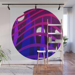 Space Shape Circle Wall Mural