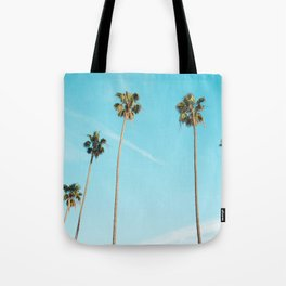 Palm Tree Sunshine Tote Bag