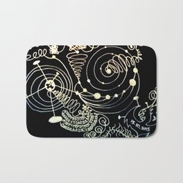 Black Book Series - Endless 01 Bath Mat