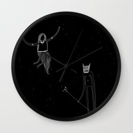 Dispute Wall Clock