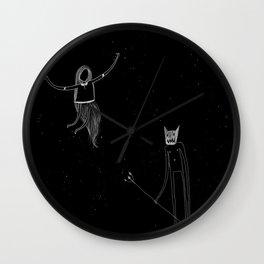 Dispute Wall Clock