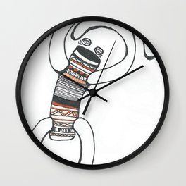 Into The Next Wall Clock