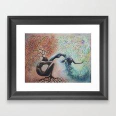 Organic Growth Framed Art Print