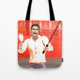 SquaReD: Opposition Tote Bag