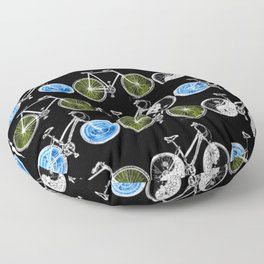 Cycling for Equality Floor Pillow