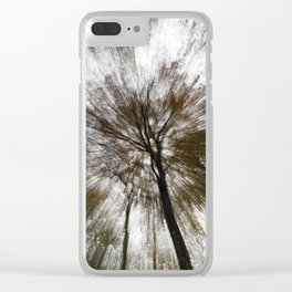 Tree Rays Clear iPhone Case