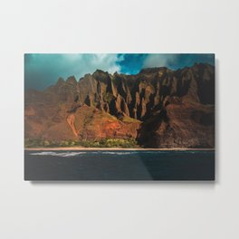 Kalalau Trail Metal Print