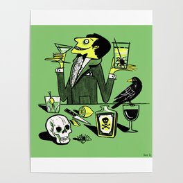 Drinks With The Mad Scientist Next Door Poster