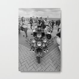 Scooter Life. Metal Print