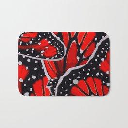 red monarch Bath Mat