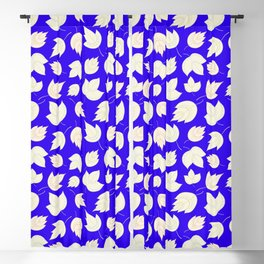 The blue woods Blackout Curtain