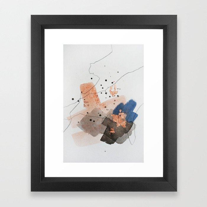 Divide #1 Framed Art Print