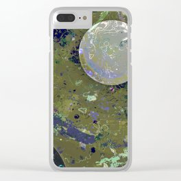 Dust 04 - Post Biological Universe Clear iPhone Case