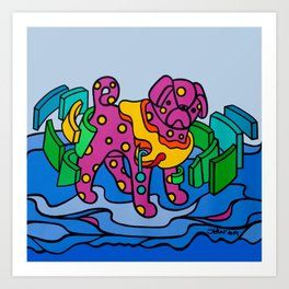 Beppo 2 Art Print