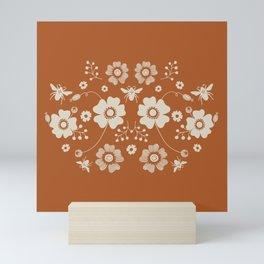 Pollinator - Rust Mini Art Print