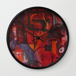 Rocket Boots Wall Clock