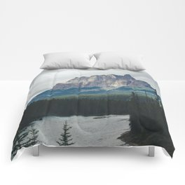 Above the Tree Line Comforters