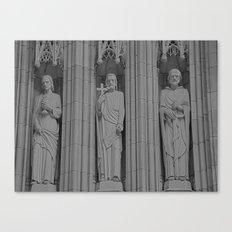 3 Statues Canvas Print