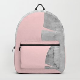 Watercolor tropical leaf VI Backpack