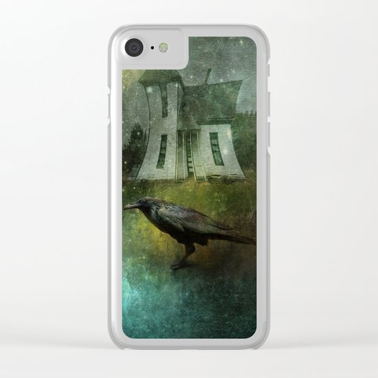 Crow House Clear iPhone Case