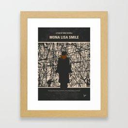 No914 My Mona Lisa Smile minimal movie poster Framed Art Print