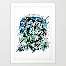 Street Diamond Art Print