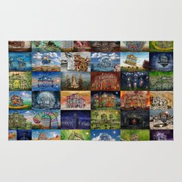 Super Collage - House Rug