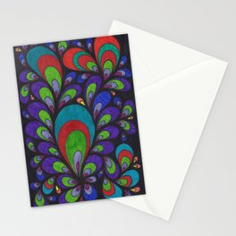 Peacock-ish Stationery Cards