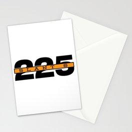 225 Slant Six Badge Stationery Cards