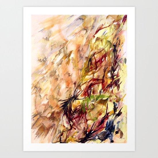 Autumnal Dialog Art Print
