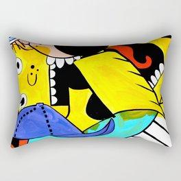 Glitterpuke Rectangular Pillow