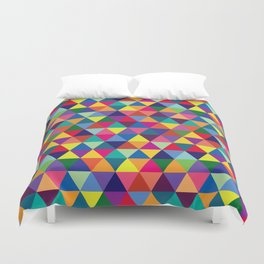 Geometric Pattern #6 Duvet Cover