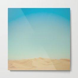 Sand Dunes of Glamis Metal Print