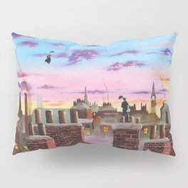 Mary Poppins and Bert Pillow Sham